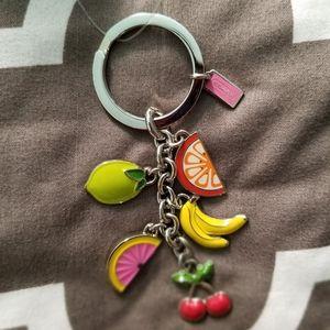 Coach Fruit Keyfob